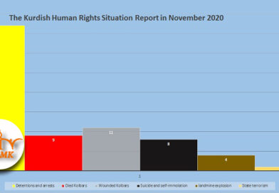 The Kurdish Human Rights Situation Report in November 2020