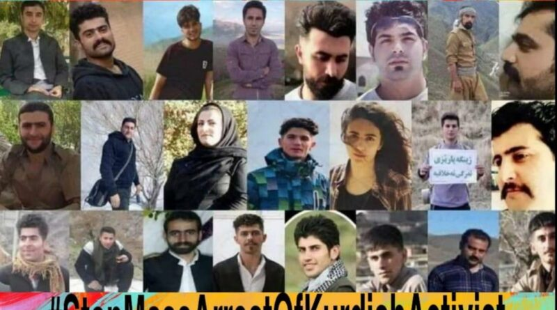 A  campaign calling for the release of all imprisoned kurds in Eastern Kurdistan and in Iran