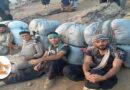 Eine Gruppe von Arbeitern (Kolbar) wurde vom iranischen Grenzregiment misshandelt