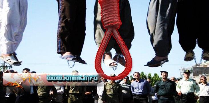 Zwei Gefangene werden hingerichtet