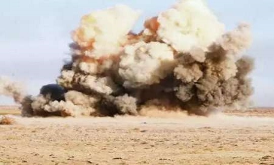 One person was injured in mine explosion in the region Dehloran.