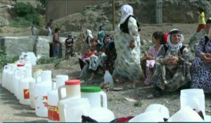 Lack of drinking water for residents of Sanandaj and surrounding villages in East Kurdistan