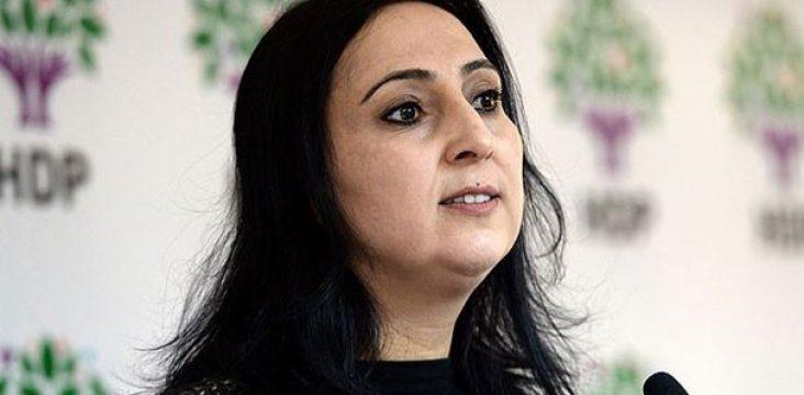 """Union of Socialist Women campaign to """"Figen Yüksekdağ"""""""