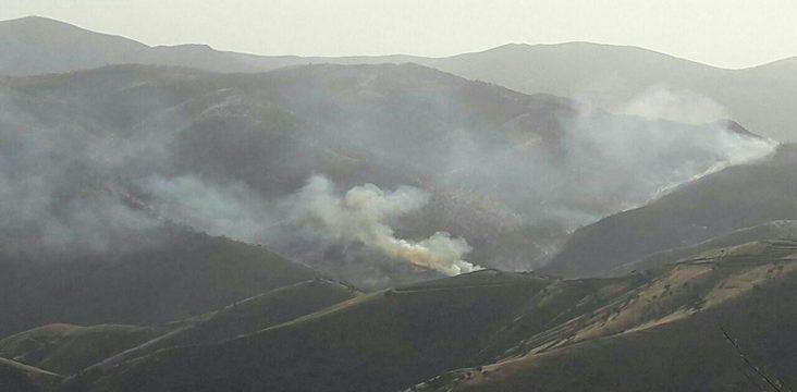 "Wildfires "" Paveh "" in East Kurdistan"