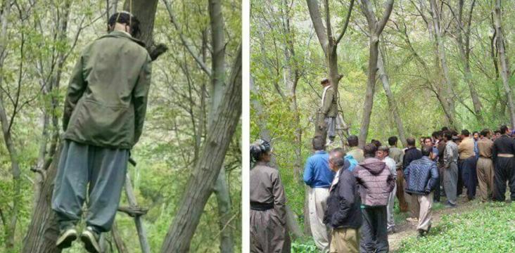 Suicide 60 years old man in East Kurdistan