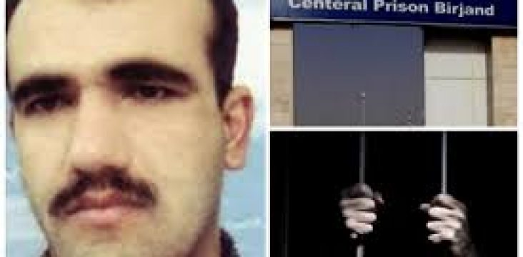 Mohammad Amin Abdollahi, a Kurdish political prisoner is in danger of losing his eyes.
