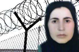 Delivery a danger Kurdish political prisoner North Kurdistan Qadriyeh Qaderi to Turkish government
