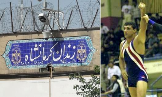 The kurdish wrestler from Kermanshah was executed.