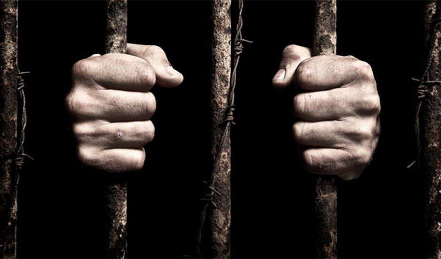 Humiliated and beat prisoner from Saqez of East Kurdistan in Karaj Rajaie Shahr prison