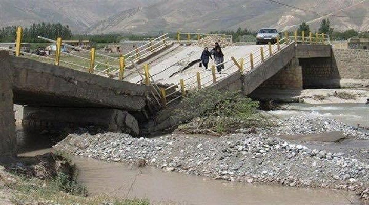 """Destruction of bridges and roads citizens """"Orumiyeh"""" and neglect official"""