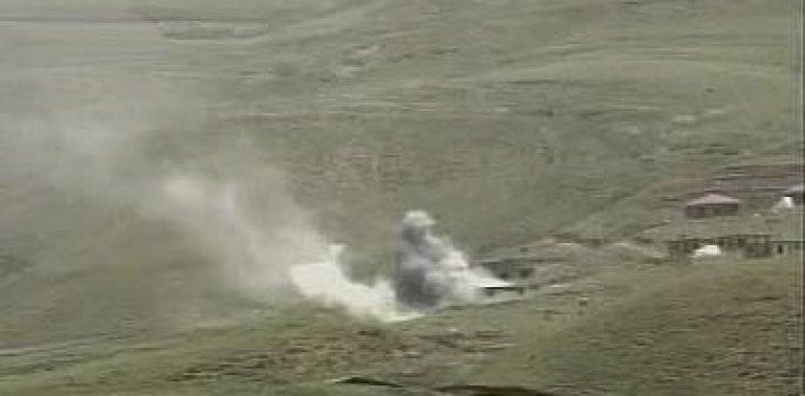 Shelling of Kurdistan East by the Islamic Republic of Iran.