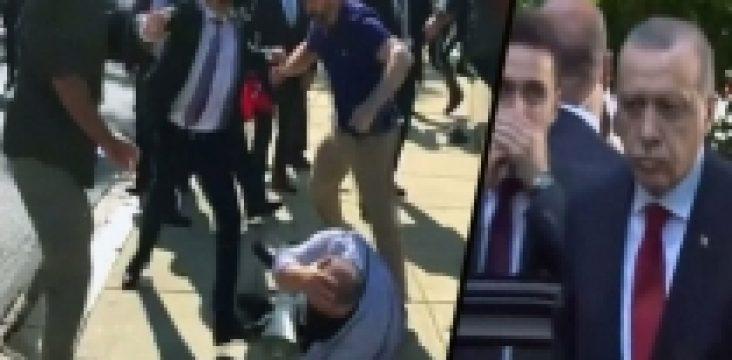 An arrest warrant 12 members of Erdogan's bodyguards in America