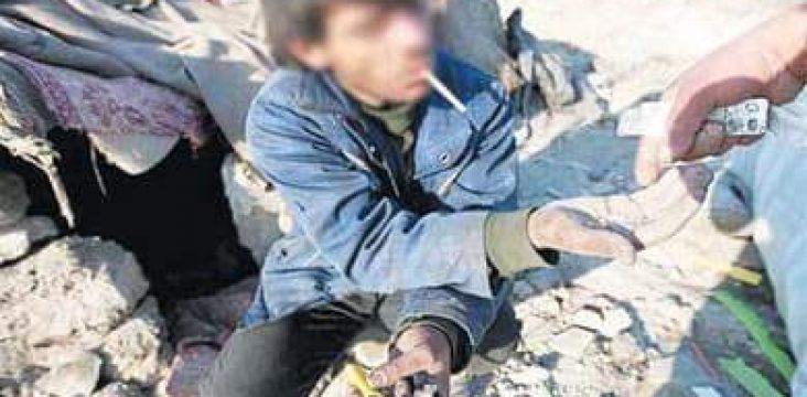 The increasing trend of drug addiction in eastern Kurdistan