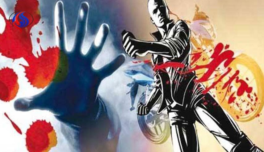 Acid attack to ex wife mother in Kermanshah