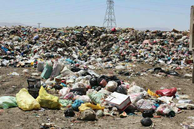 Waste residue and burn people protest Kamyaran and Sanandaj brought.