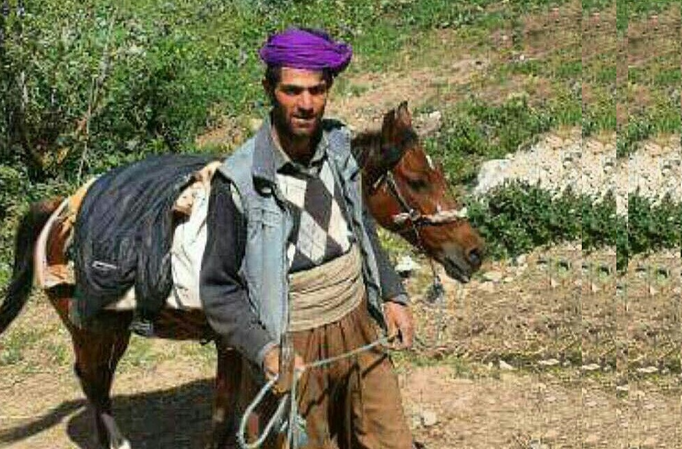 The Killed Kurdish innocent civilian by the forces of the Islamic Republic of Iran