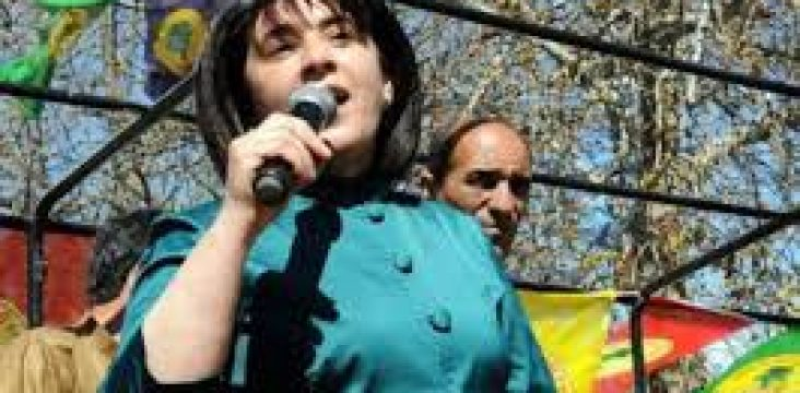 At the first court hearing, lawyer Leila Zana called for her client's innocence