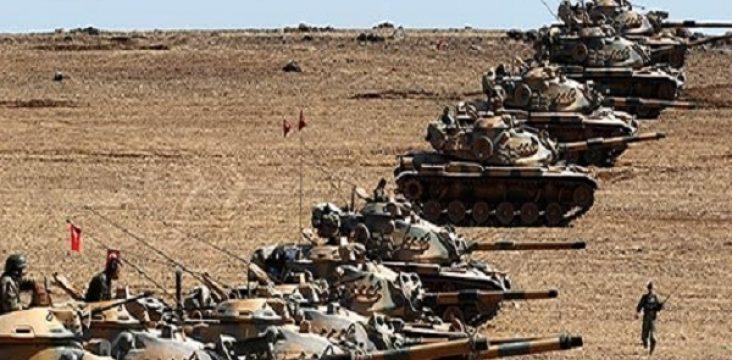 Attacking The Turkish Army to Kobani