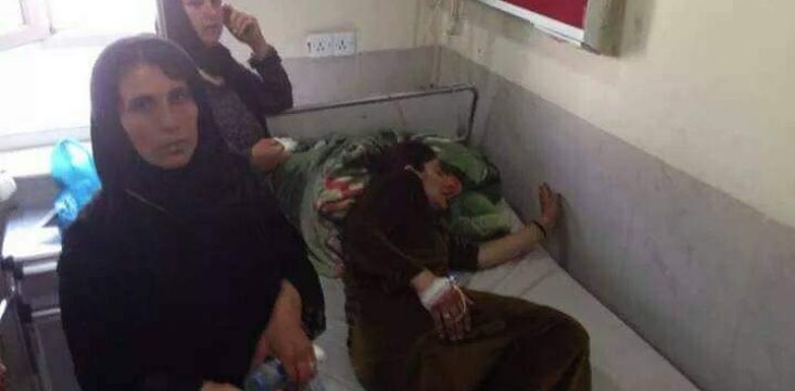 The Islamic Republic of Iran shelling the southern Kurdistan region.