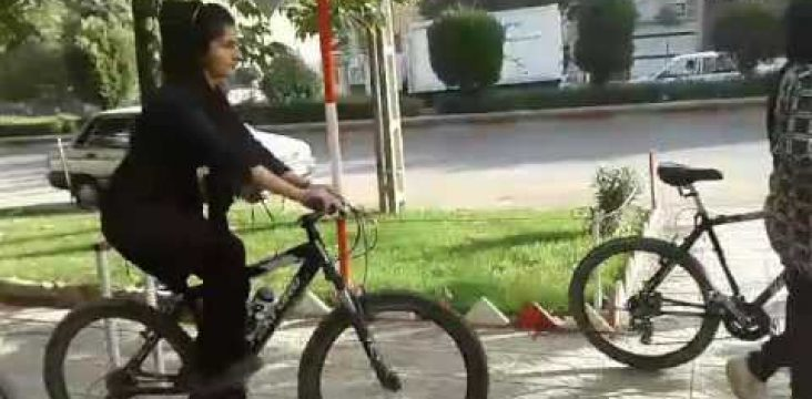 The ban on women cycling in the city of Marivan in eastern Kurdistan