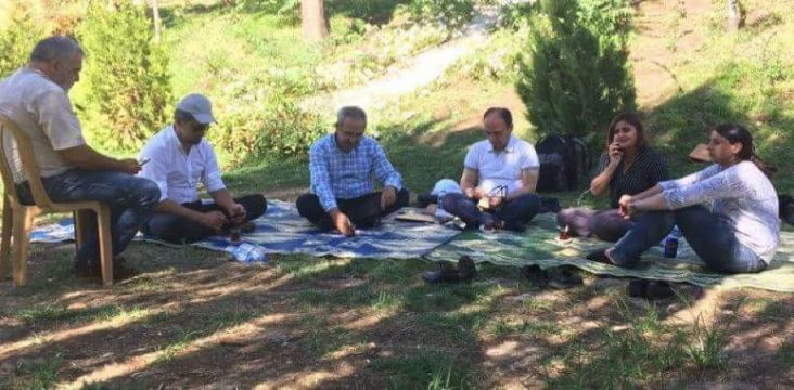 The strike Representatives of the People's Democratic Party( HDP) on the second day