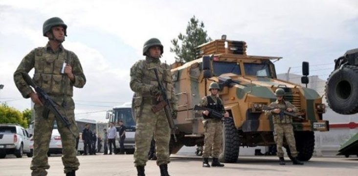 """The evacuation of """"Sur Amed """" citizens in northern Kurdistan and force by Turkish military"""