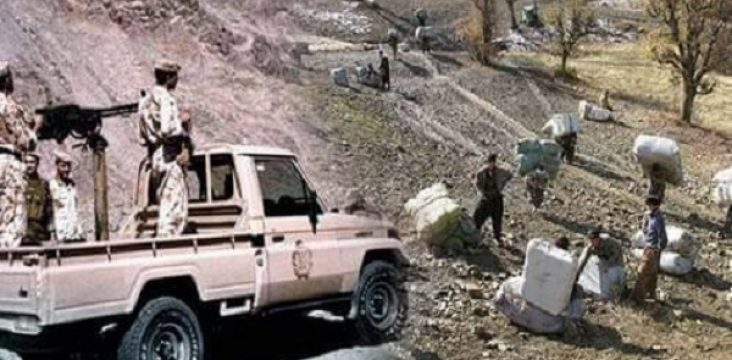 """The resistance of the """"Paveh"""" people in eastern Kurdistan and the withdrawal of Iranian armed forces in the attack against the carrier."""