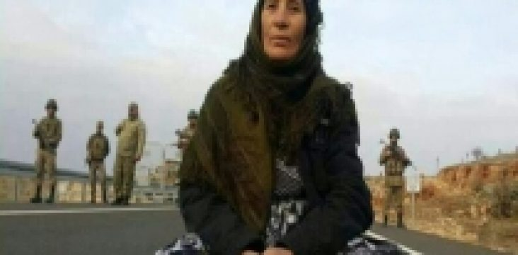 Imprisoning of a 53 years old woman by the Turkish Army