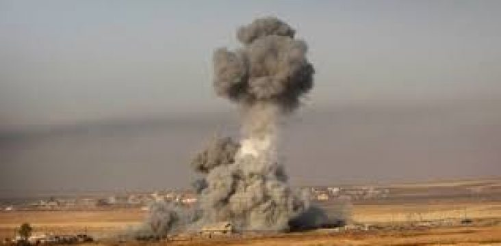 The shelling of the border areas of the city of Halabja by Iran