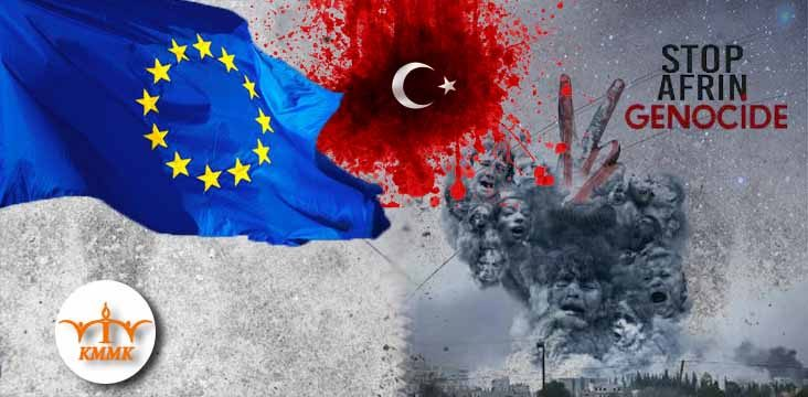 The European Parliament condemns Turkish military operations in northern Syria