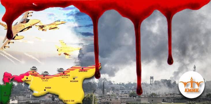 Turkey commits genocide in western Kurdistan