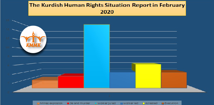 The Kurdish Human Rights Situation Report in February  2020