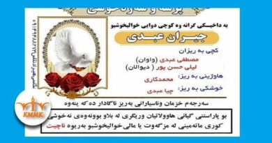Sardasht; Suicide of a young woman