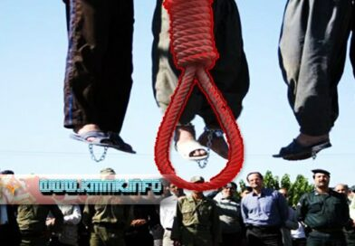 Two prisoners are being Executed