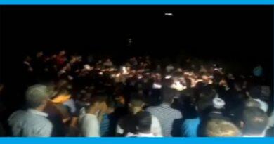 Funeral of Keyvan Haghmoradi, a Kurdish Kolbar (worker) who was killed by Iranian forces.