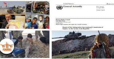 سازمان ملل: دولت ترکیە در غرب کوردستان جنایت میکند